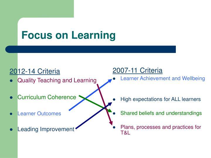 2012-14 Criteria