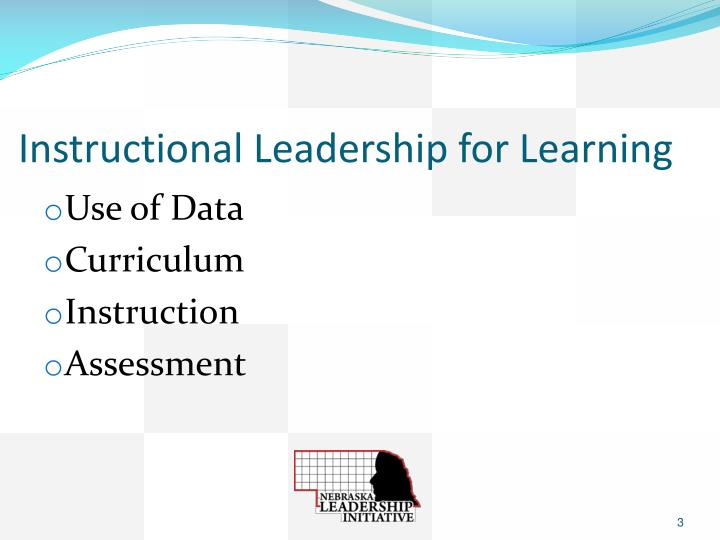 Instructional leadership for learning1