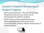 lezotte s frequent monitoring of student progress1