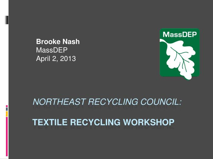 Brooke nash massdep april 2 2013