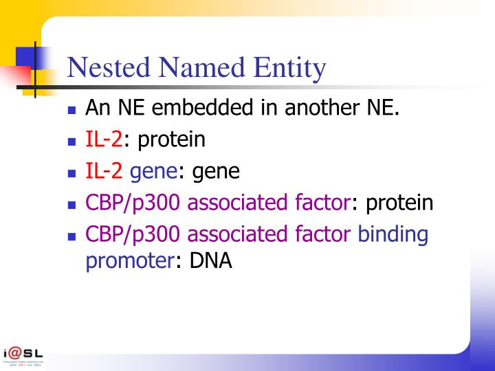 Nested Named Entity