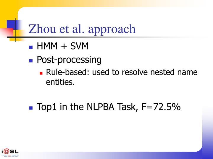 Zhou et al. approach