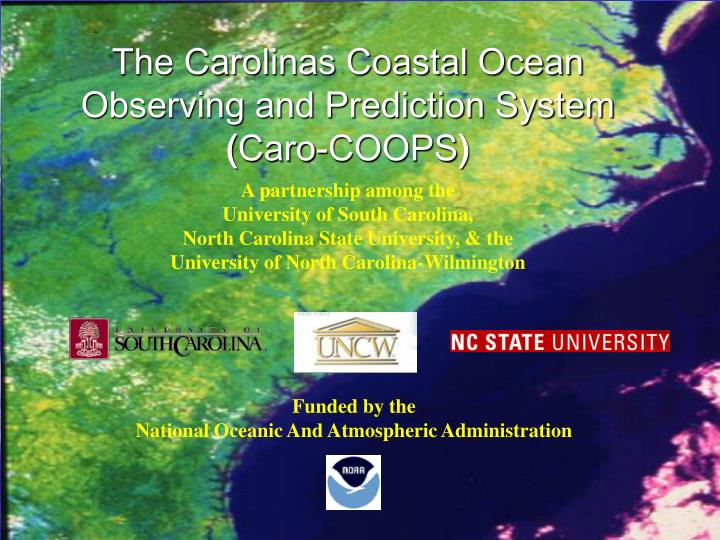 The Carolinas Coastal Ocean