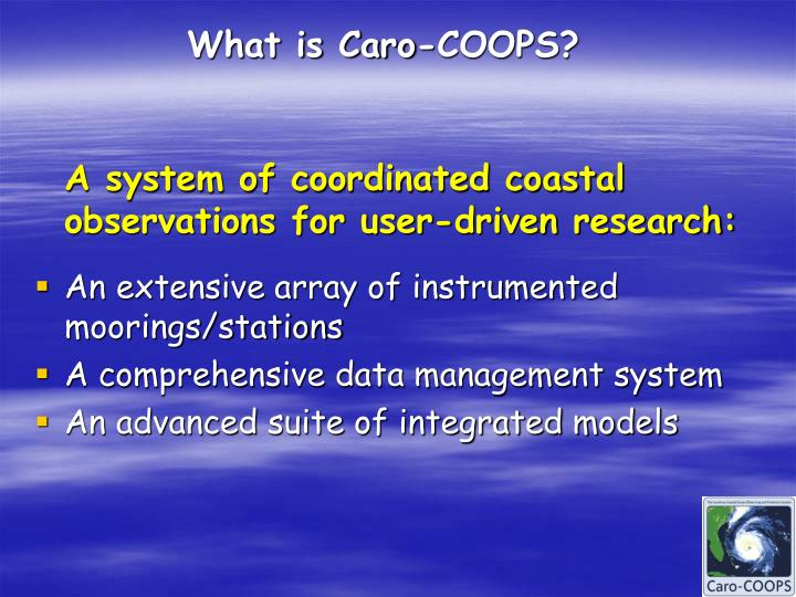What is caro coops