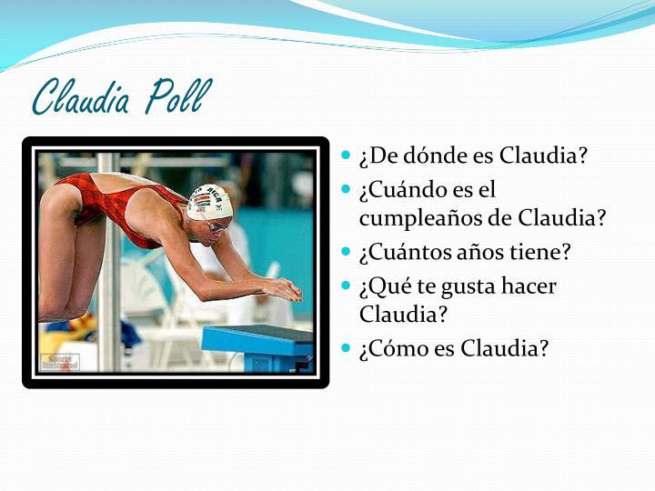 Claudia Poll