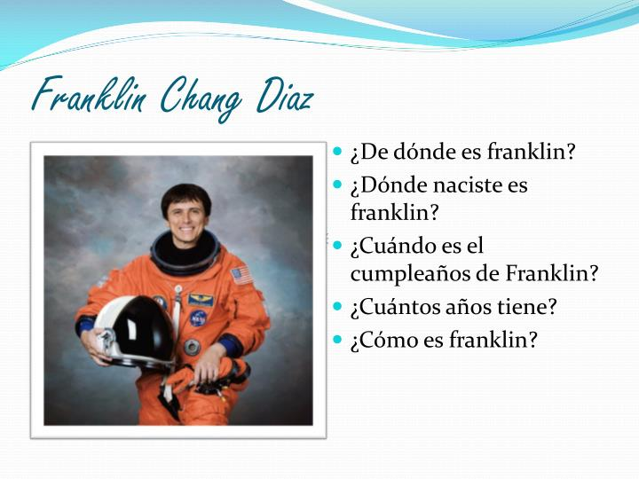 Franklin Chang Diaz