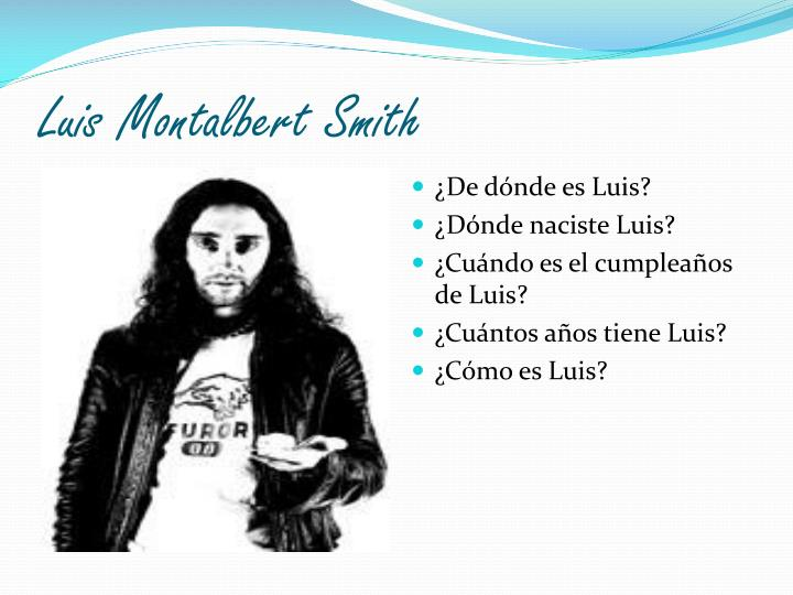 Luis Montalbert Smith