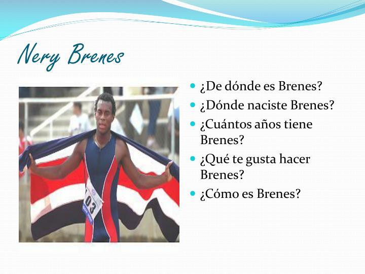 Nery Brenes