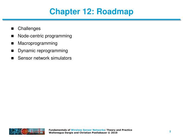 Chapter 12: Roadmap