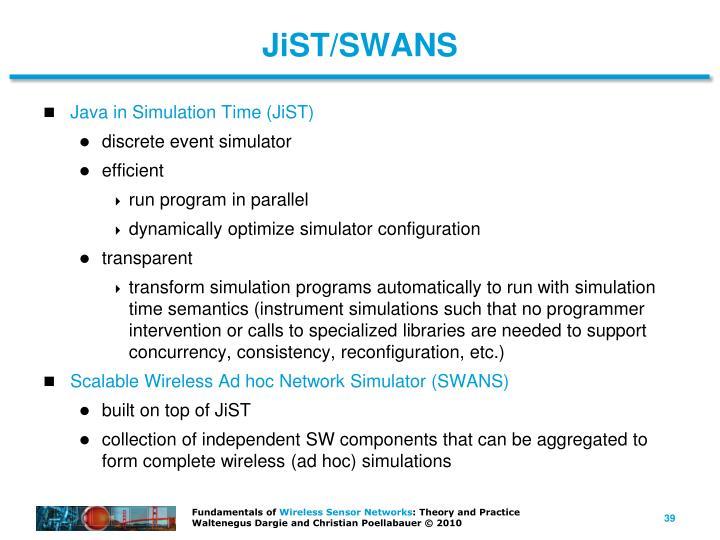 JiST/SWANS