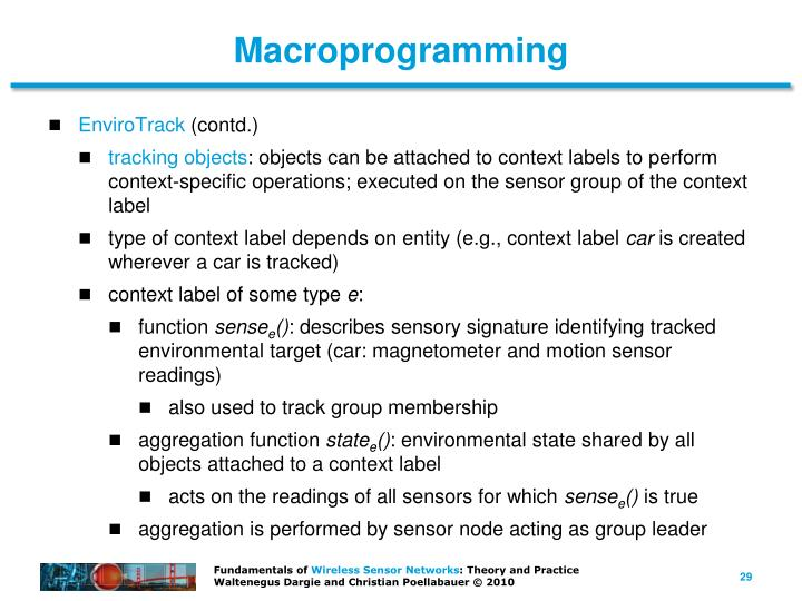 Macroprogramming