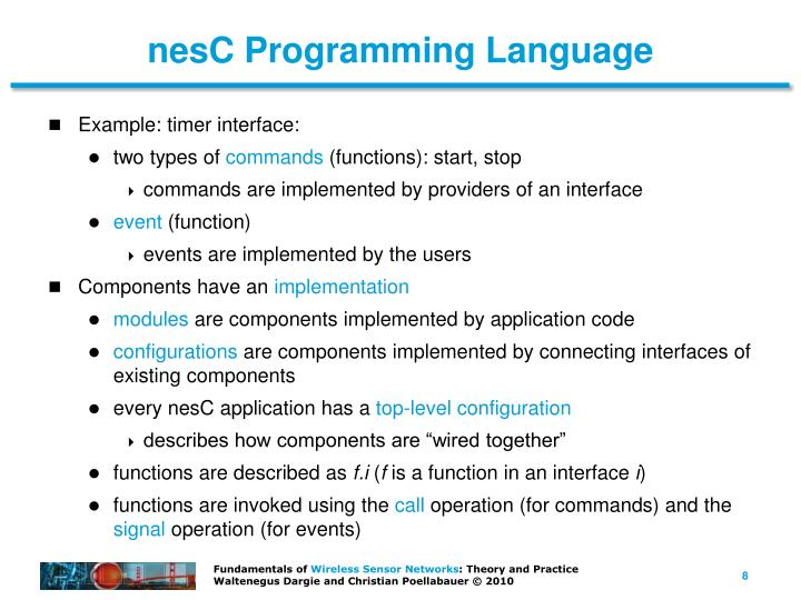 nesC Programming Language