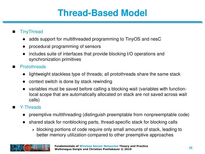 Thread-Based Model