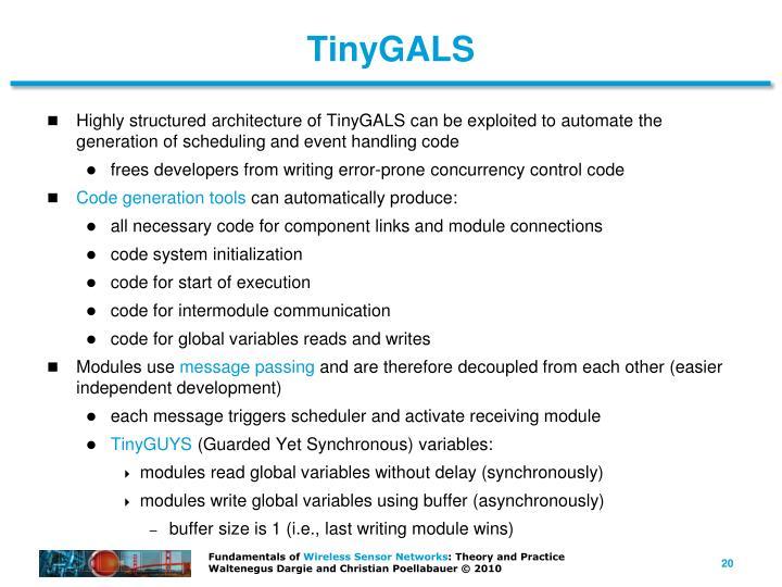 TinyGALS