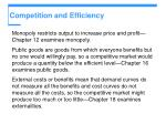 competition and efficiency8