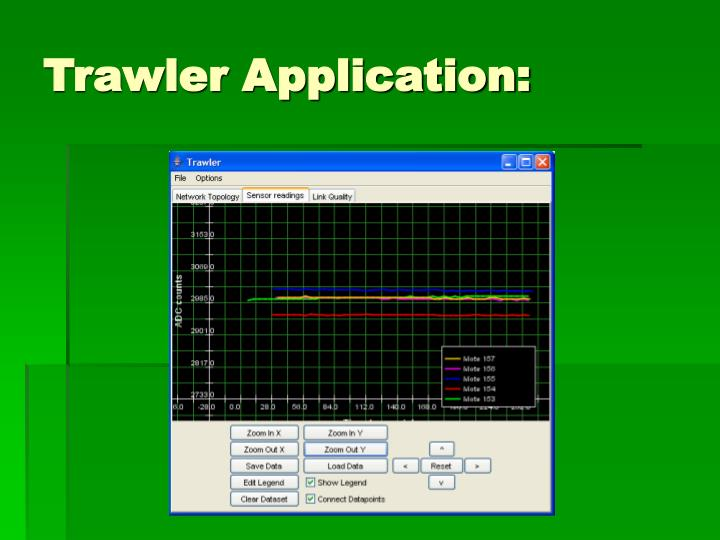 Trawler Application: