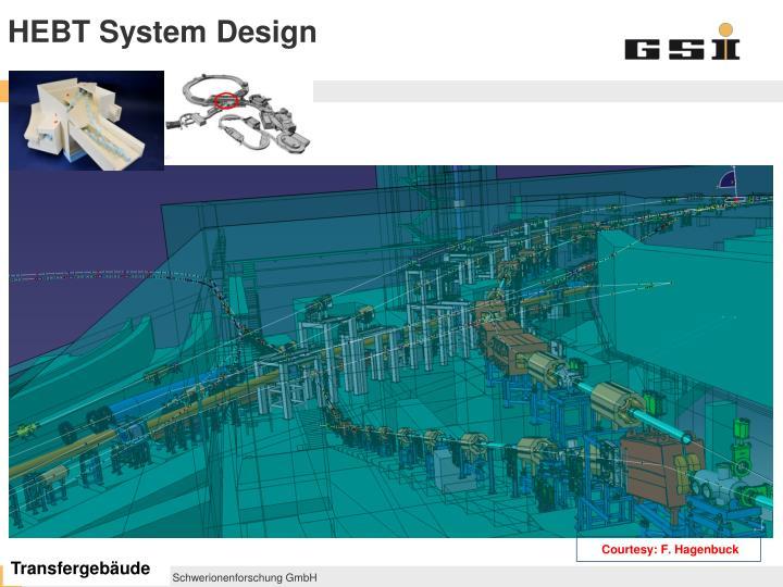 HEBT System Design