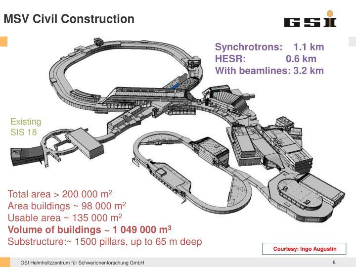 MSV Civil Construction