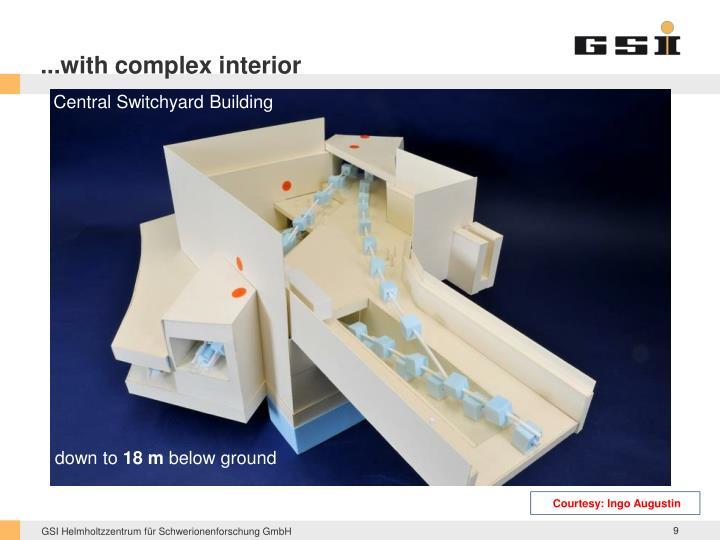 ...with complex interior