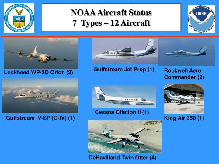 NOAA Aircraft Status