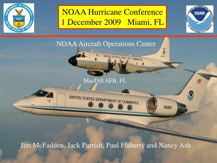 NOAA Hurricane Conference