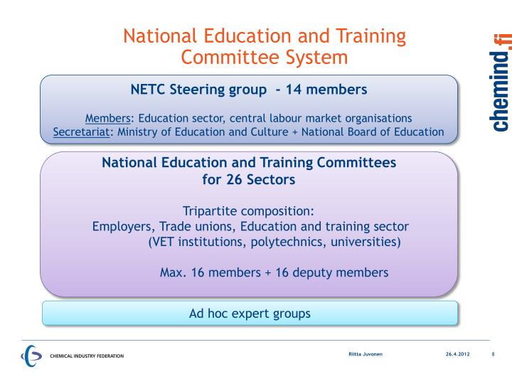 National Education and Training