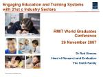 engaging education and training systems with 21st c industry sectors5