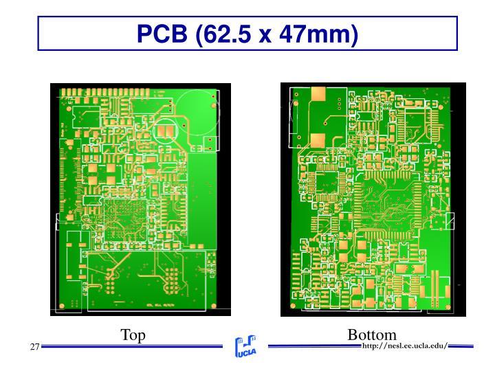 PCB (62.5 x 47mm)
