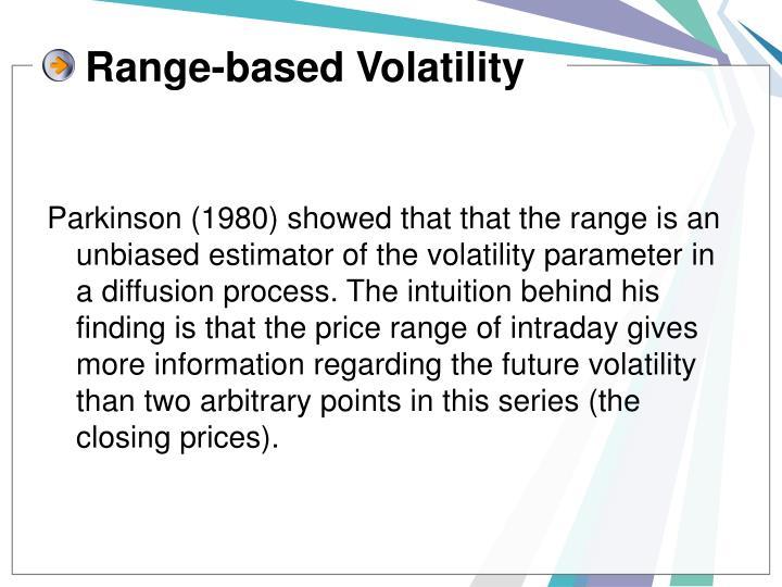 Range-based Volatility