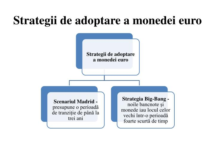 Strategii de adoptare a monedei euro