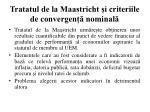 tratatul de la maastricht i criteriile de convergen nominal1