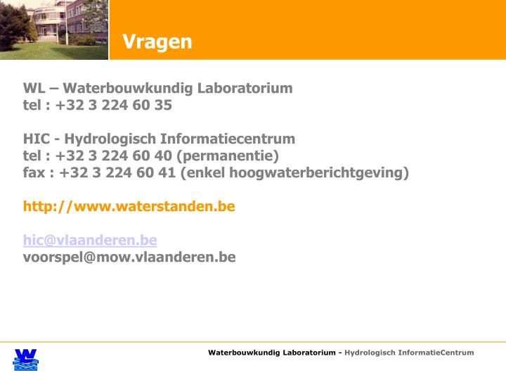 Waterbouwkundig Laboratorium -