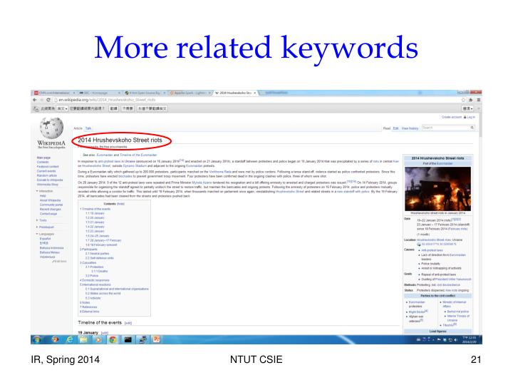 More related keywords