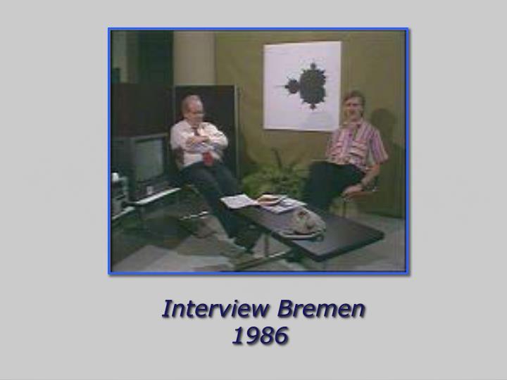 Interview Bremen