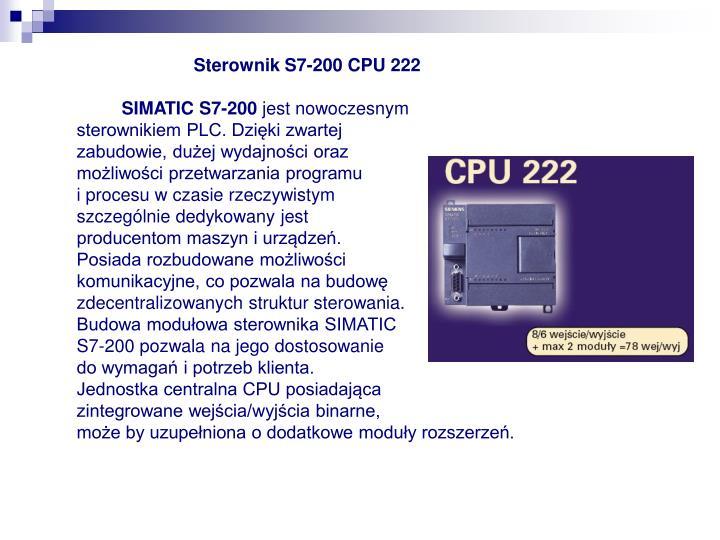 Sterownik S7-200 CPU 222