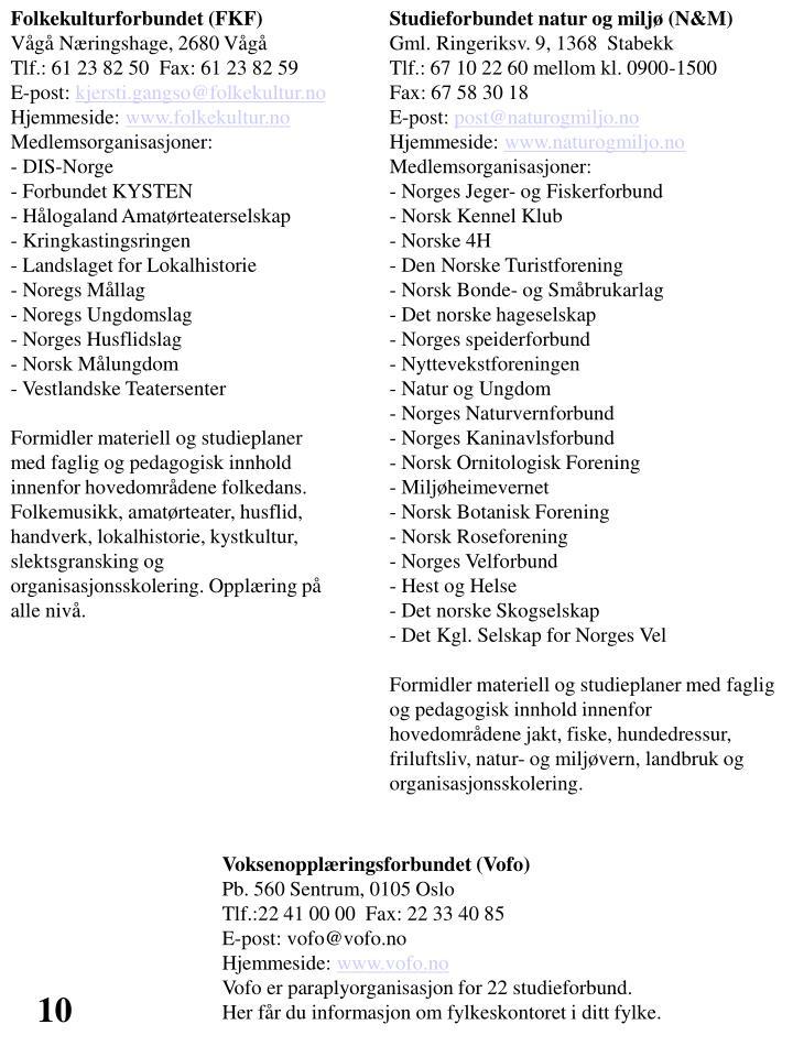 Folkekulturforbundet (FKF)