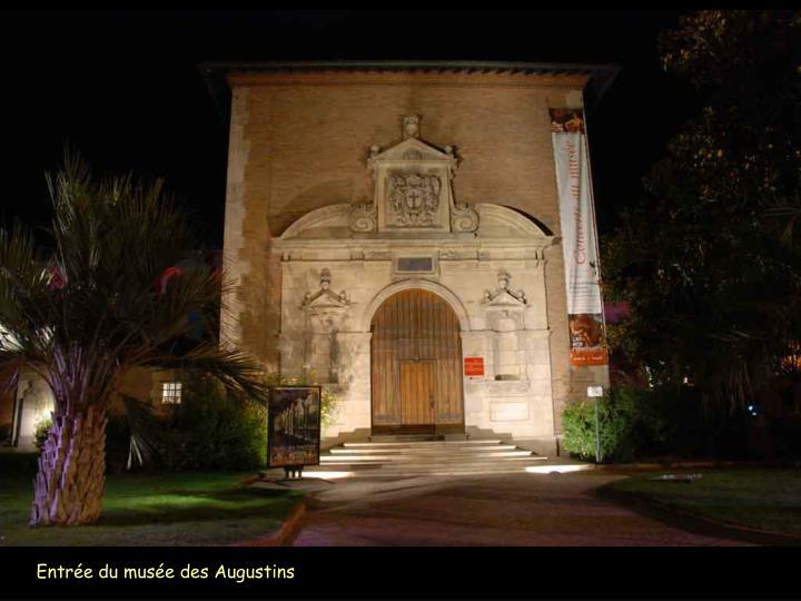 Entrée du musée des Augustins
