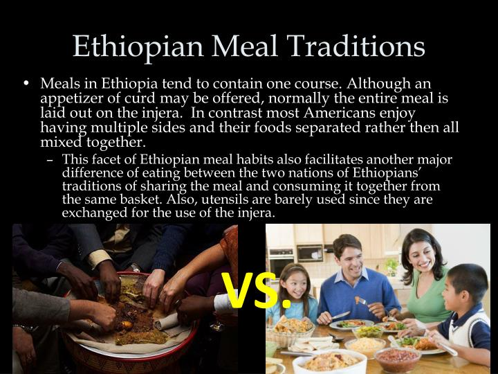 Ethiopian Meal Traditions