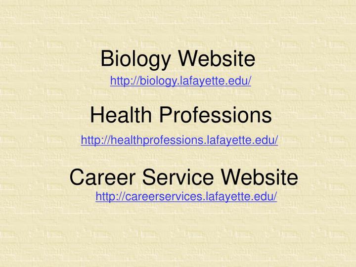 Biology Website