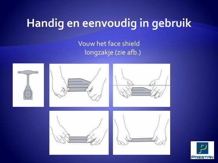 Handig en eenvoudig in gebruik