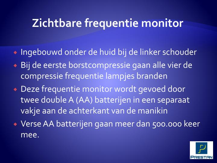 Zichtbare frequentie monitor
