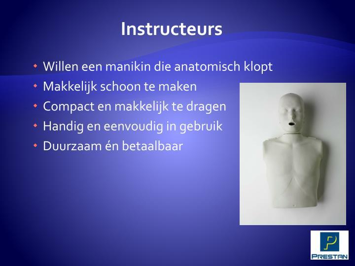 Instructeurs