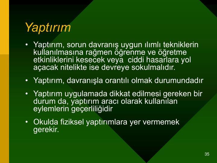 Yaptrm