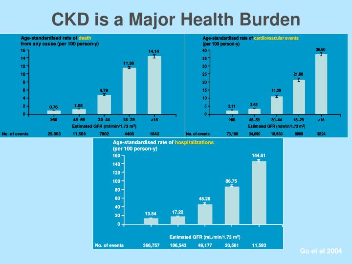 CKD is a Major Health Burden