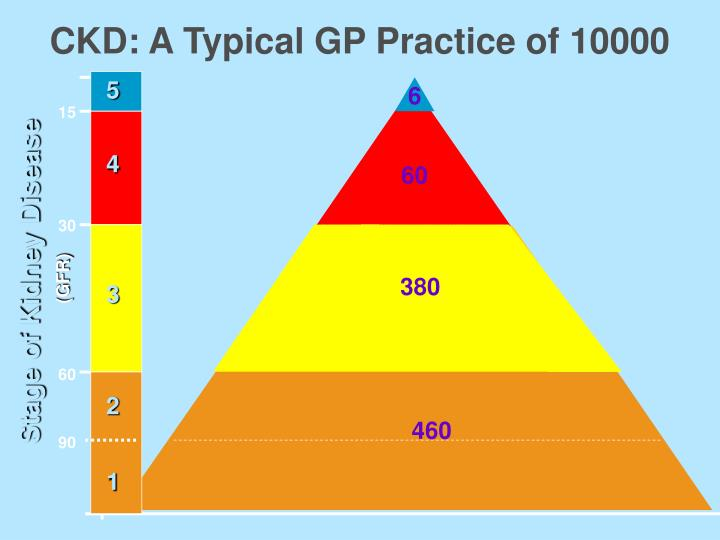 CKD: A Typical GP Practice of 10000
