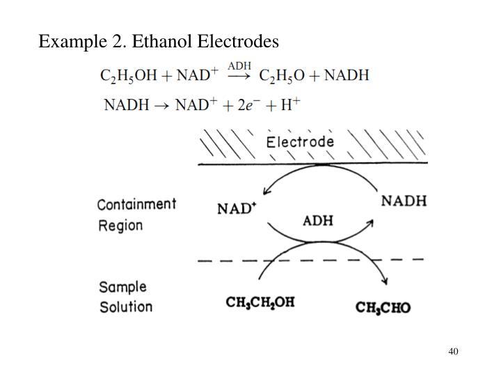 Example 2. Ethanol Electrodes