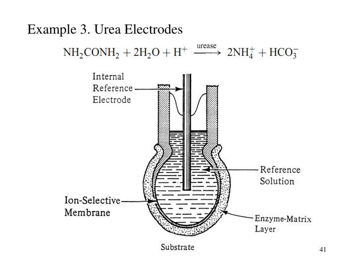 Example 3. Urea Electrodes