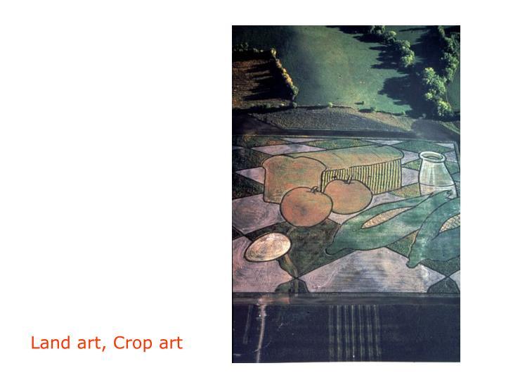 Land art, Crop art