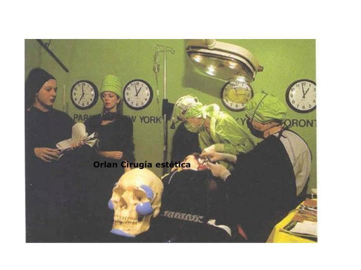 Orlan Cirugía estética