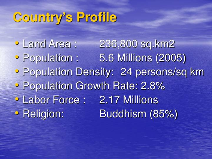 Country s profile